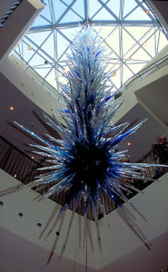 Dale Chihuly, Naples Museum of Art, Icicle Chandelier, 2000