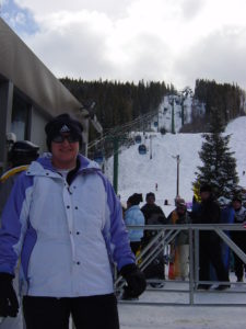 Yep, I lived through a chair lift excursion and got down the mountain on skis. Twice.